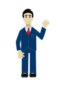diseño grafico vectorial de personaje