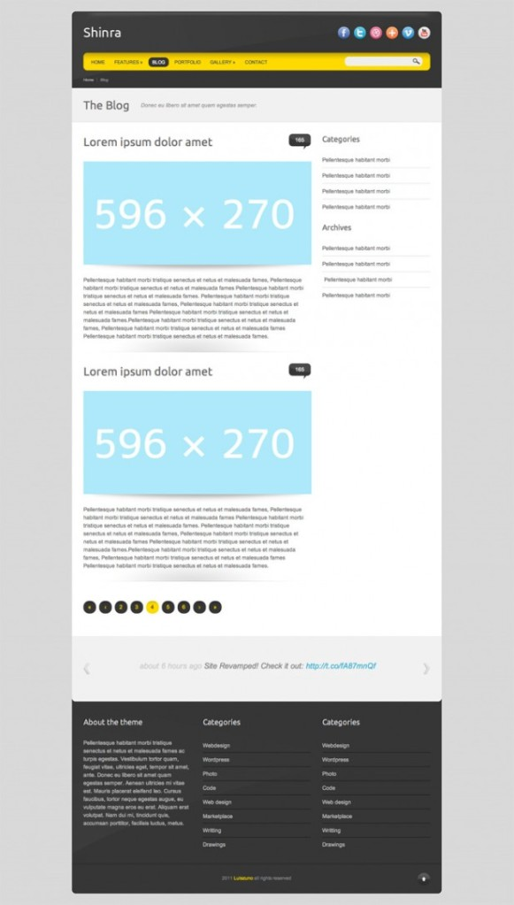 shinra-template-plantilla-html5