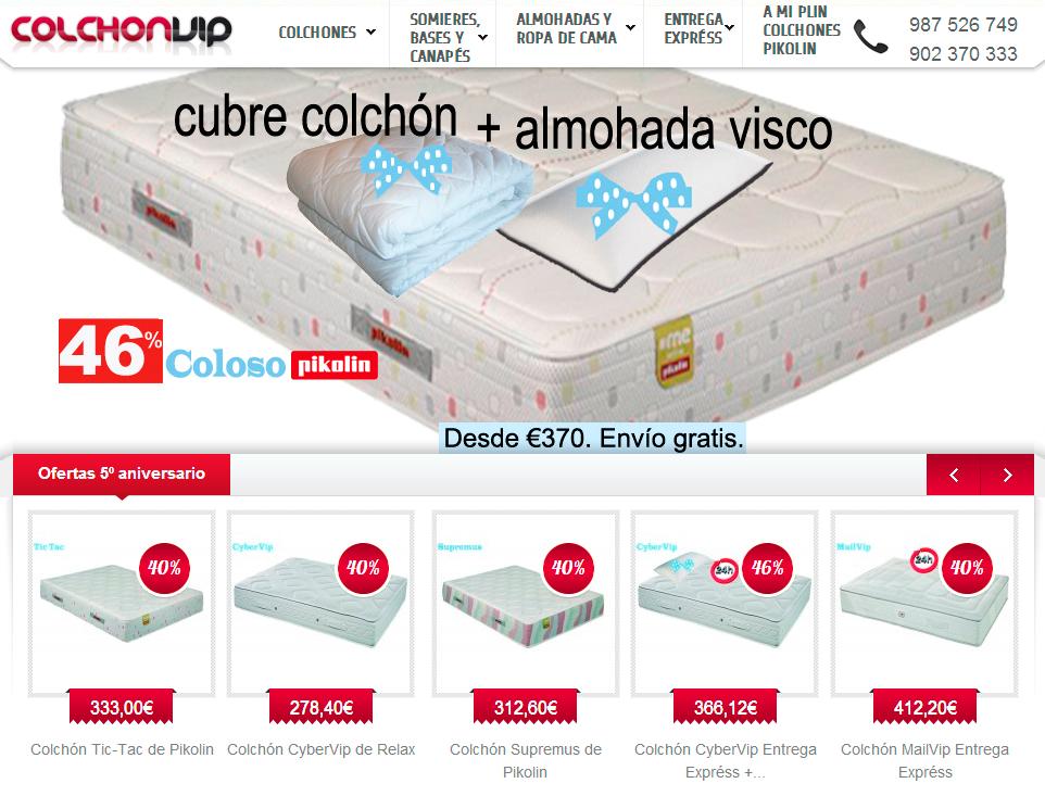 Venta de colchones - Colchones venta online ...