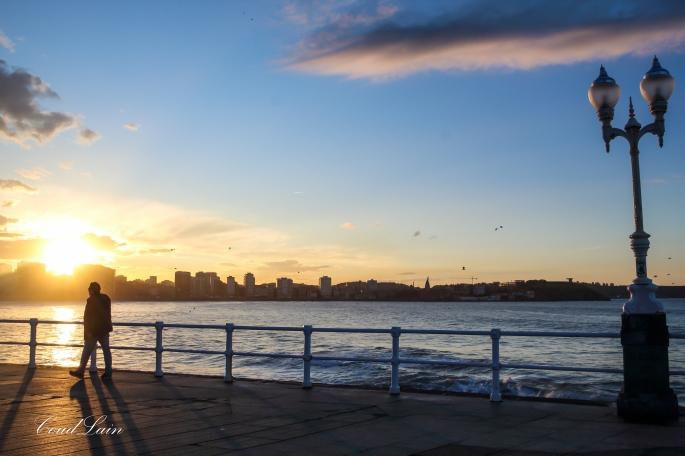 atardecer-noche-playa-gijon-asturias-sunset-largaexposicion-longexposure-nigth